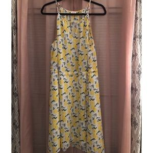Pixley lemon summer dress